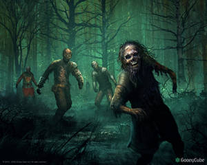 Zombies in the woods