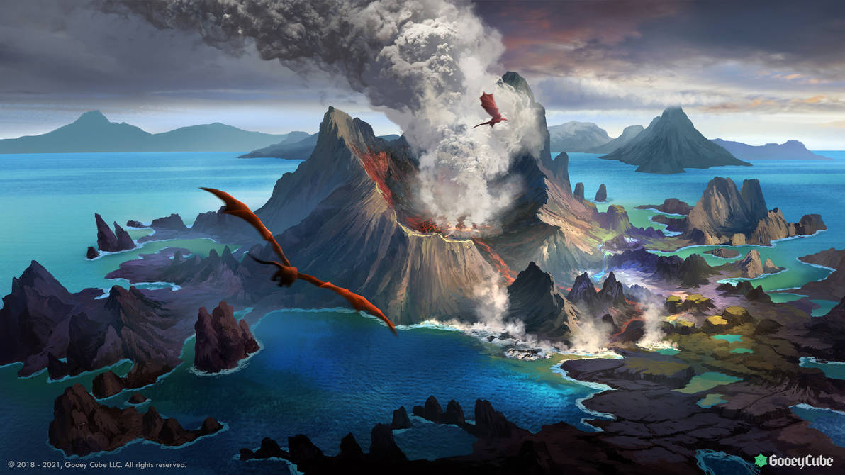 The Isle of Fire