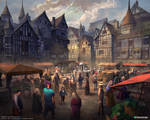 Tudor town square