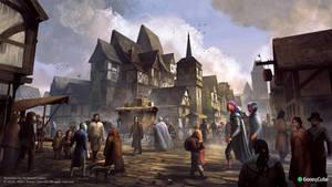 Tudor streetscene