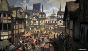 Tudor street scene II