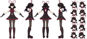 MMDxRWBY OC - Coraline Stoker + DOWNLOAD