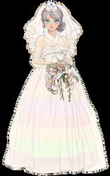 Lin Wedding Dress ver by fastylilac