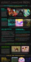 COMMISSION INFO - Ulfeid3 Digital Art [ASK]