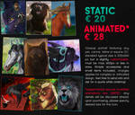 COMMISSION INFO - Icons and Avatars