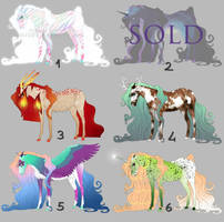 Horse Adoptables 2 - Flat Design Sale [5/6 OPEN]