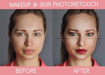 Retouch - Makeup and beauty by Ulfeid3