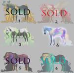 Horse Adoptables 3 - Flatsale [1/6 OPEN]