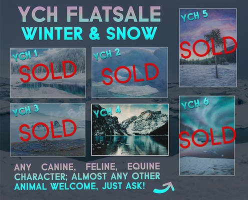 YCH Flatsale - Winter and Snow [1 LEFT]