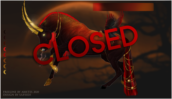Horse Adoptable - Infernal Dominant [CLOSED]