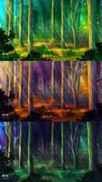 Forest Environment Speedpaint
