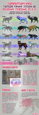 Custom Feral Canine Design - COMMISSIONS OPEN