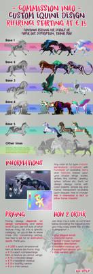 Custom Equine or Horse Design - COMMISSIONS OPEN