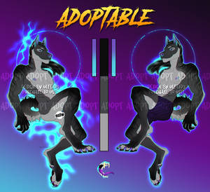 Canine anthro adoptable - Flatsale [OPEN]