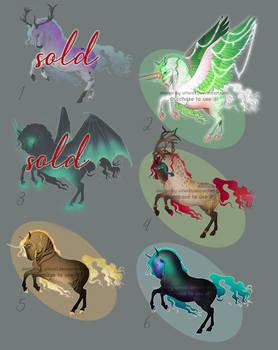 Equine Adoptables [5/6 OPEN]