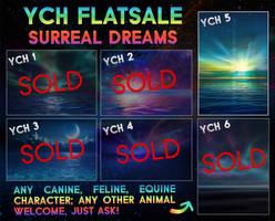 YCH Flatsale - Surreal dreams [1/6 OPEN]