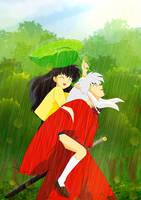 Rain through sunshine by katewind