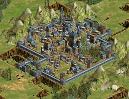 Dwarven Fortress by Eragon2589
