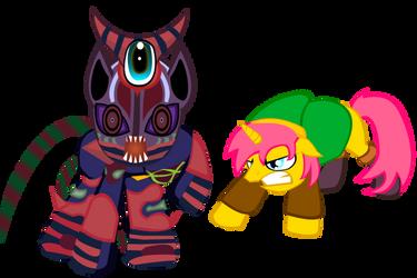 Ponified Zelda Characters by SladeJT