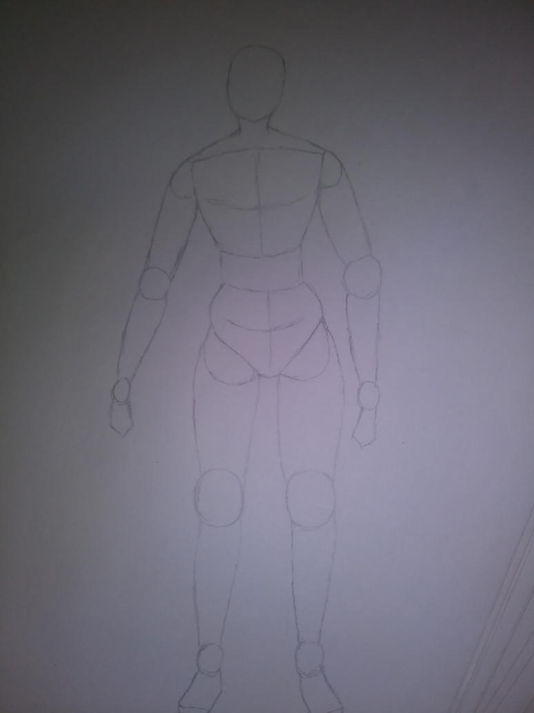 My anime male body anatomypractice by ladycecilacorabelle