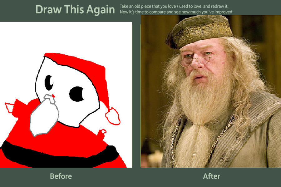 satan claus before and after by RunItzGodzilla