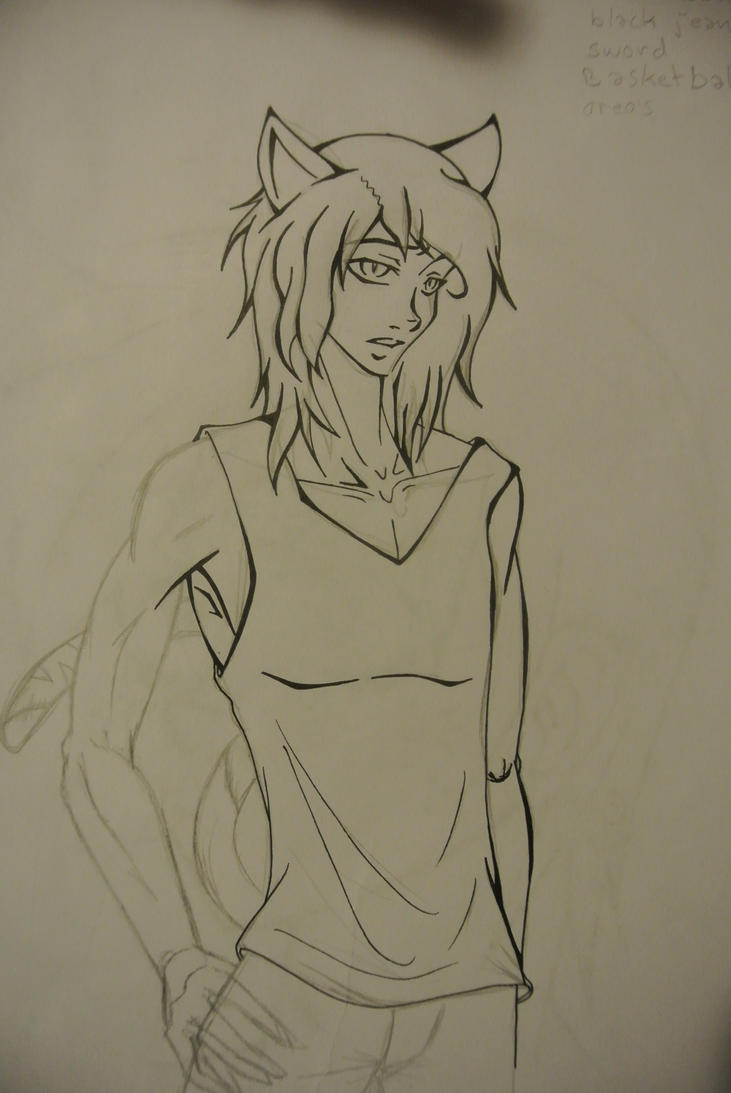 Lil'Wayne Sketch by ChidoriOnCrayon