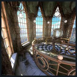 Gothic: Tower by FeodorIvaneev