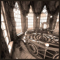 Gothic: Sepia color