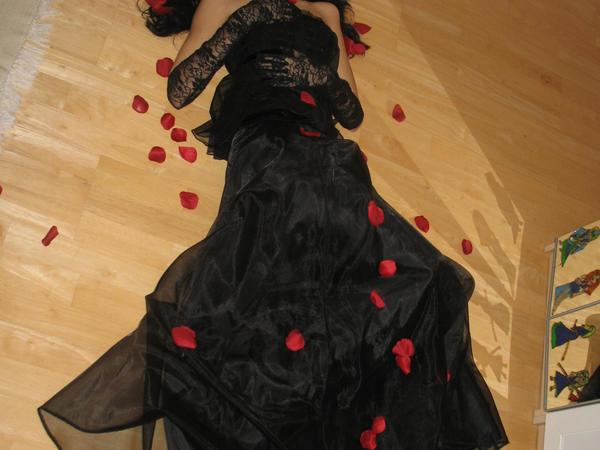 RosesAroundDS-stock by Black-rose-stock