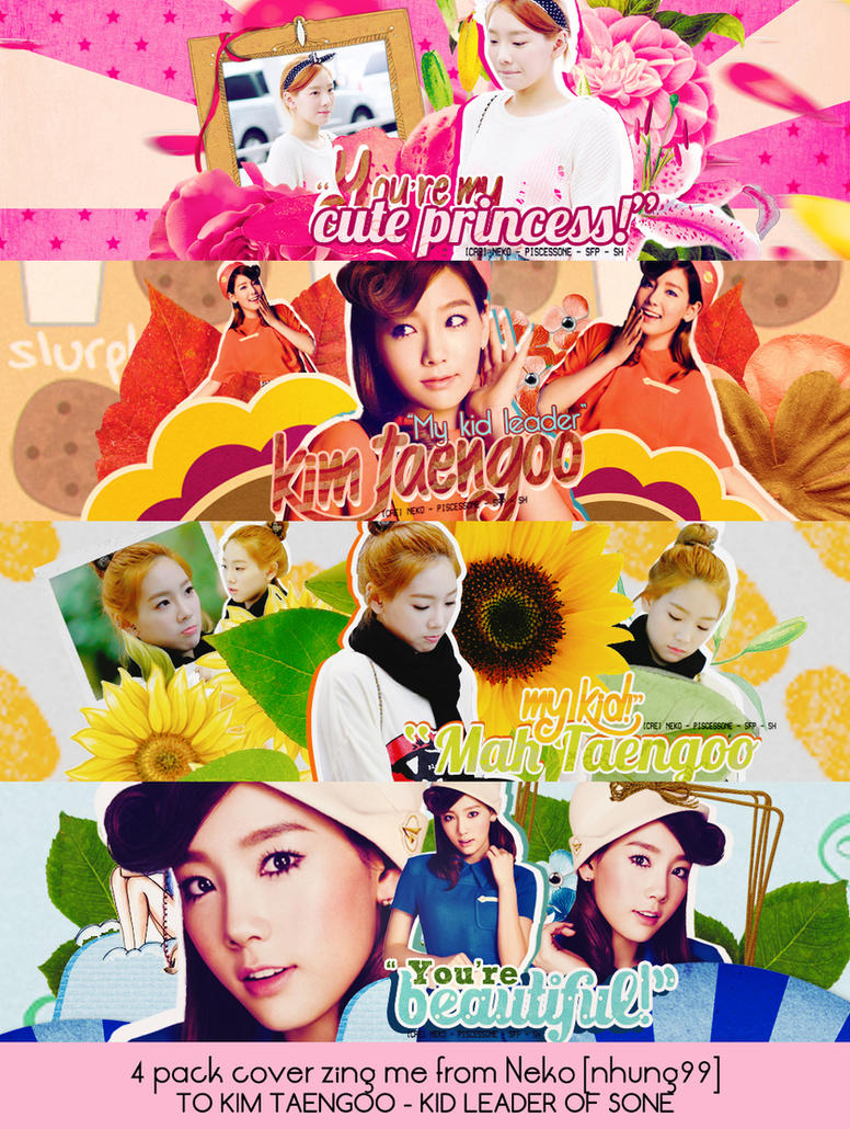 PACK COVER - KIM TAENGOO #1 by NekoNguyen