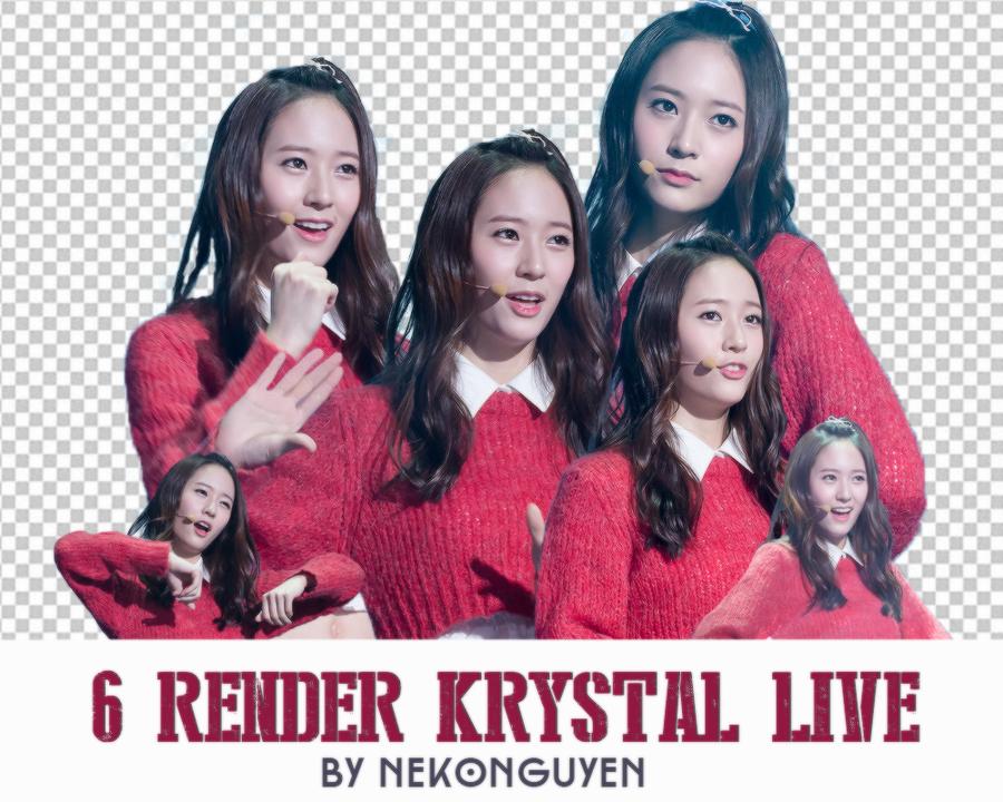 Pack RENDER - Krystal live by NekoNguyen by NekoNguyen