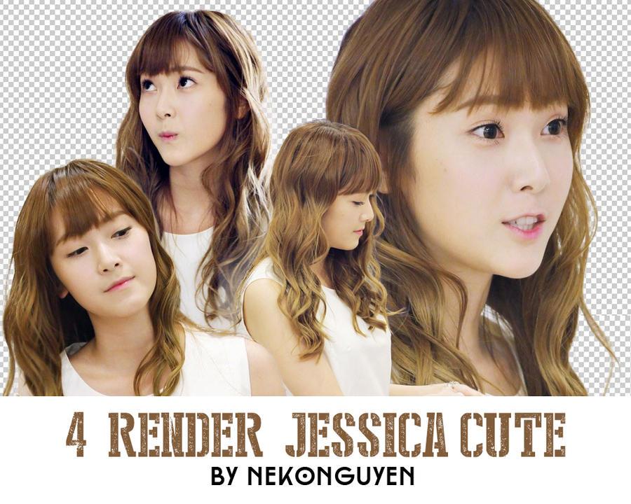 Pack RENDER - Jessica cute by NekoNguyen by NekoNguyen