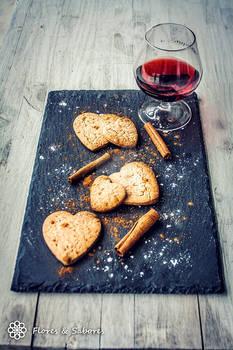 Cinnamon and Port Wine Cookies