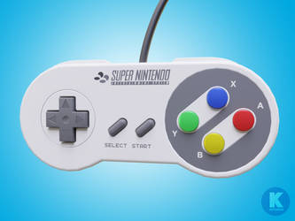 SNES Controller by gendosplace