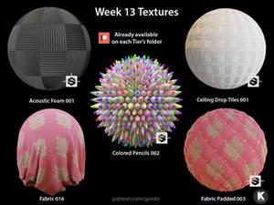 Week 013 Textures