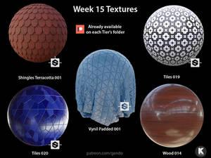 Week 015 Textures