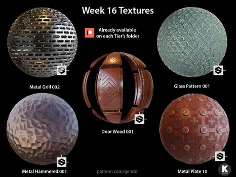 Week 016 Textures