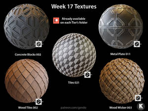 Week 17 Textures - Free seamless PBR textures