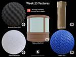 Week 25 Textures