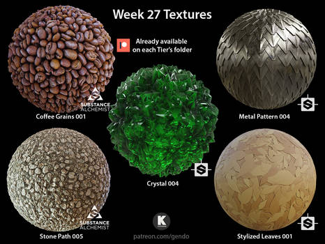 Week 27 Textures