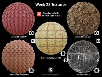 Week 28 Textures