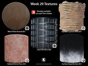 Week 29 Textures