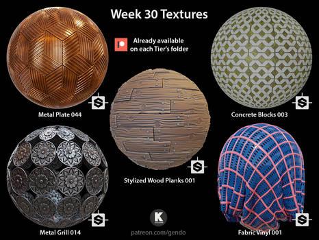 Week 30 Textures