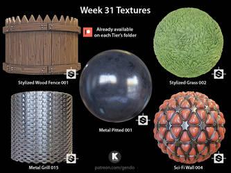 Week 31 Textures