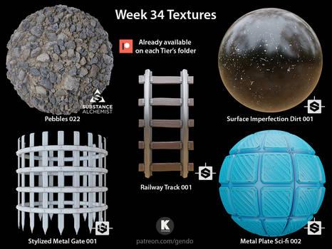 Week 34 Textures