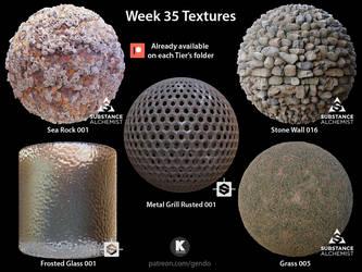 Week 35 Textures