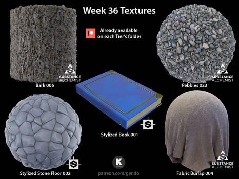 Week 36 Textures