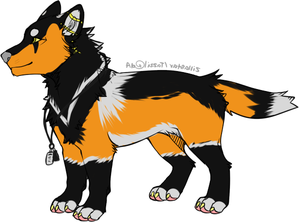 Quill Revamped Ref Sheet 2015 by DoubleTroubleWolves