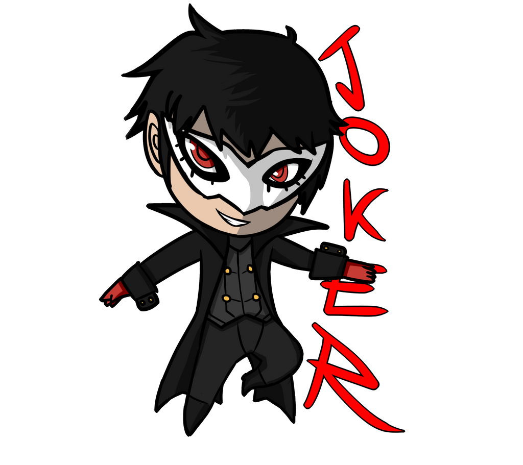 Chibi Joker Persona 5 By Rasencore On Deviantart