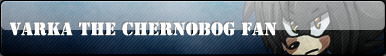 Varma the Chernobog Fan Button :COMM: